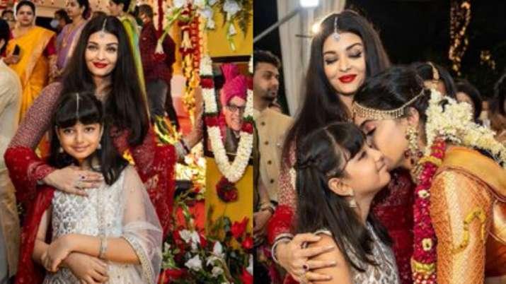 Aishwarya Rai Bachchan, daughter Aaradhya's photos, dance video from cousin's wedding break the inte
