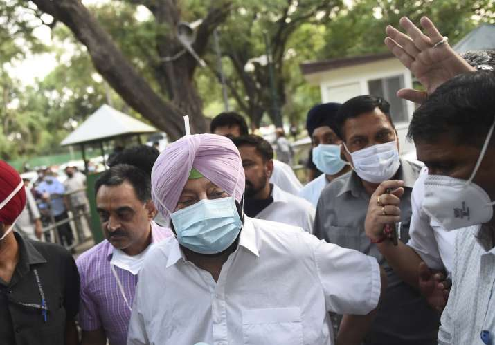 amarinder singh, farmer protests, lathicharge karnal