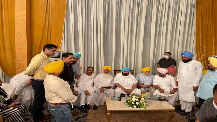 Glimpses from dinner hosted by Punjab ministerRana Gurmit