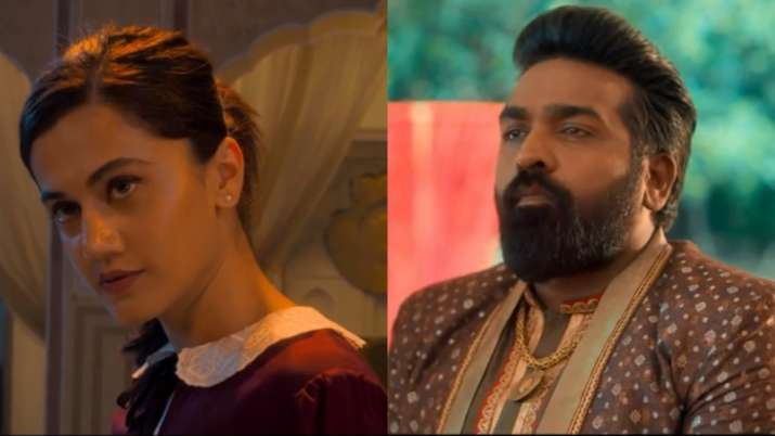 Annabelle Sethupathi Trailer: Vijay Sethupathi, Taapsee Pannu's horror-comedy will leave you ROFLing