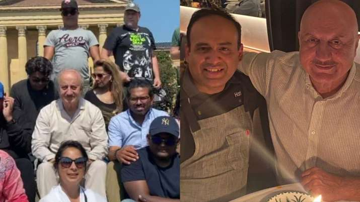 Anupam Kher finishes shooting of his 519th film 'Shiv Shastri Balboa,' visits Priyanka Chopra's NYC