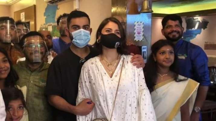 Anushka Sharma, Virat Kohli celebrate Onam in UK