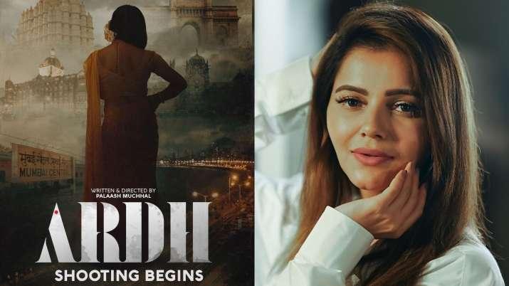 Bigg Boss 14 winner Rubina Dilaik starts filming for her Bollywood debut 'Ardh'