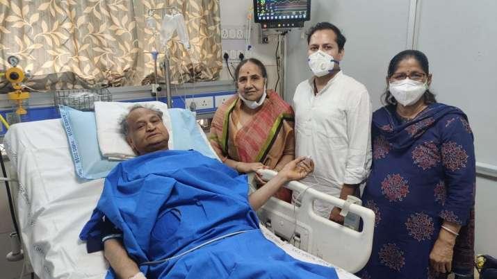 Ashok Gehlot, Ashok Gehlot health, Ashok Gehlot health update, Ashok Gehlot heart treatment, Ashok G