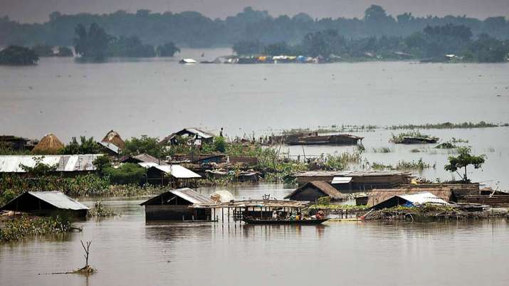 Kaziranga national park, assam floods, assam, assam flood situation, assam flood, assam flood 2021,