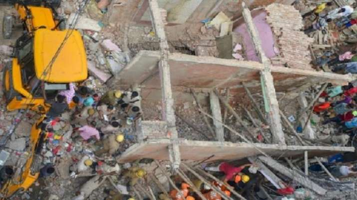 Delhi, building collapse, building collapse UPDATE, one killed, three injured, Nand Nagri area, late