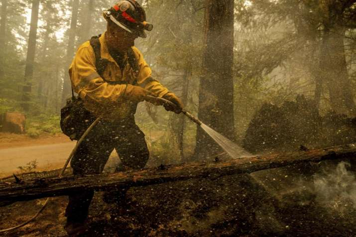 Placerville, California, California Wildfire UPDATE, New round winds, fuel fury, Northern California