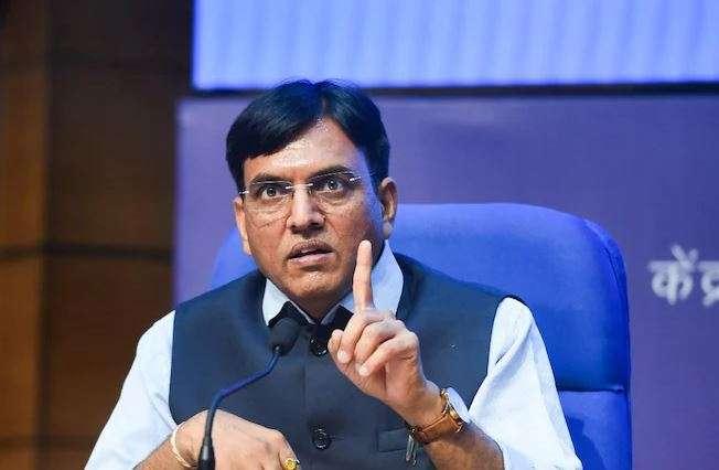 Mansukh mandaviya counters Delhi govt, oxygen shortage delhi, oxygen deaths, oxygen shortage deaths,