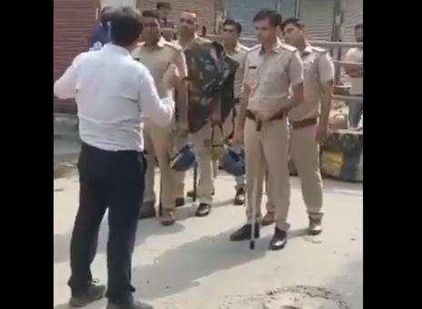 Karnal SDM viral video, Karnal SDM Ayush Sinha, Ayush Sinha karnal viral video, haryana police prote