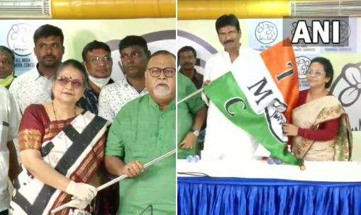 BJP leaders Biswajit Das, Manatosh Nath join trinamool congress, bjp leaders join TMC, BJP TMC, BJP