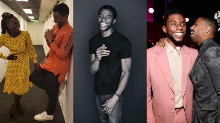 Black Panther co-stars pay tribute to Chadwick Boseman