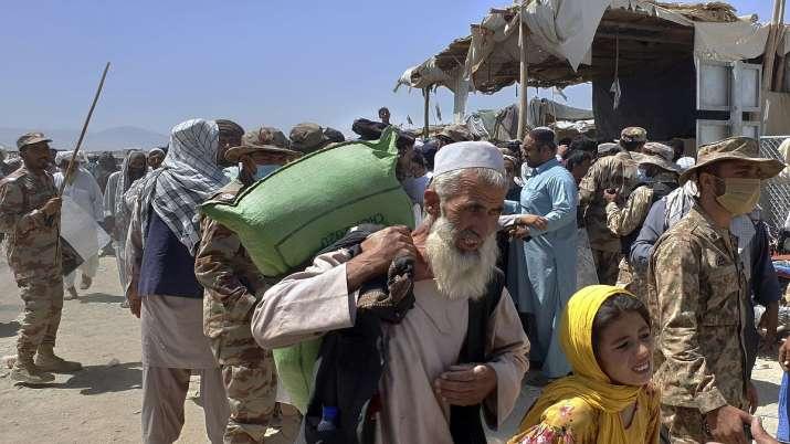 Chaman border, pakistan, afghanistan