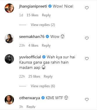 India Tv - Comments on Kim Sharma's post