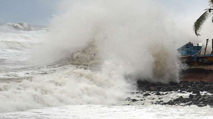 cyclones, india, heavy damages