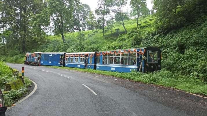 Darjeeling Himalayan Railway (DHR) resumed its toy train