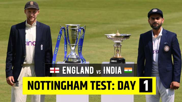 Live Cricket Score England vs India 1st Test Day 1: Follow live updates from ENG vs IND1st Test Day
