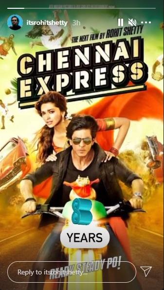 India Tv - 8 years of Chennai Express: Rohit Shetty takes a trip down the memory lane