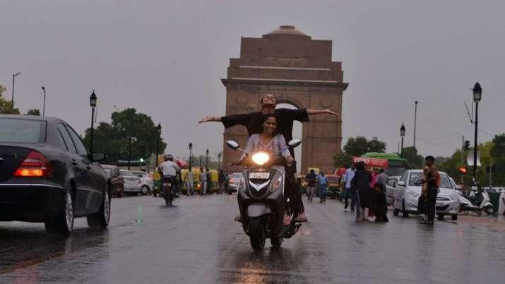 Incessant overnight rainfall drench Delhi-NCR; Azad Market