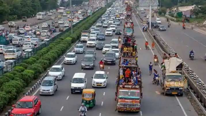 On Independence Day, which all routes to avoid. Delhi