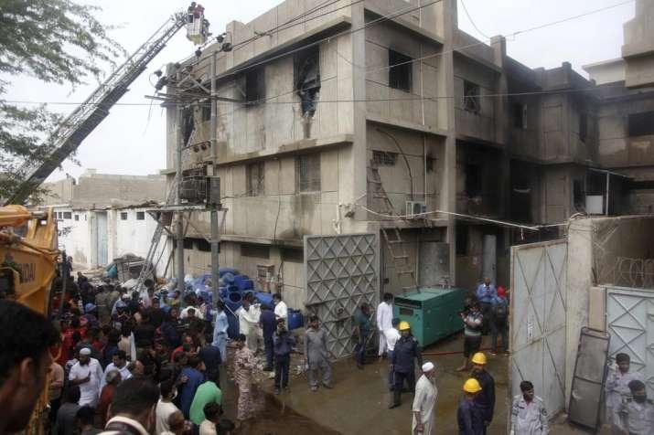 Fire, chemical factory, sixteen killed, Pakistan, Karachi, latest international news updates, chemic