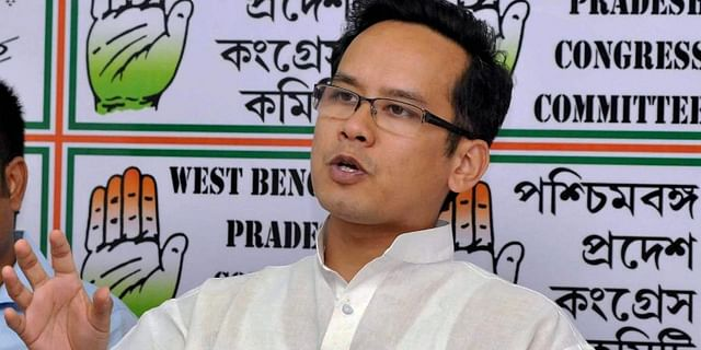 Gaurav gogoi, head btr, assam congress