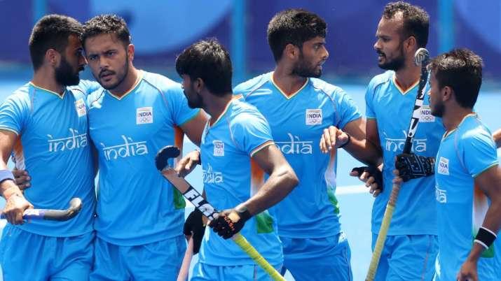 File photo of India men's hockey team