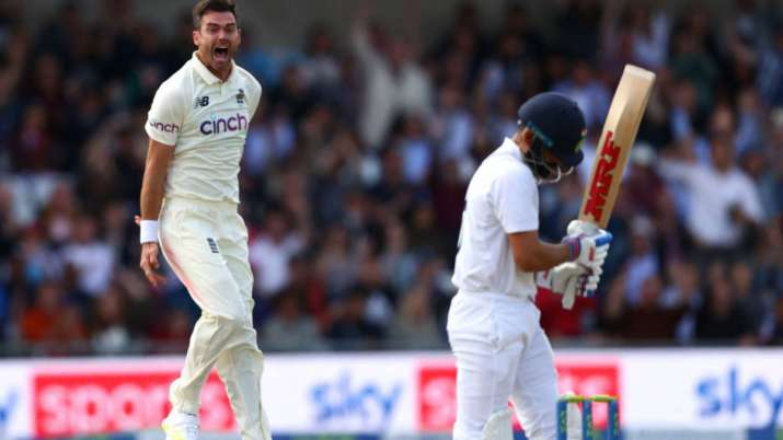 ENG vs IND 3rd Test: James Anderson casts his spell against Virat Kohli once again, enters record books | Cricket News – India TV