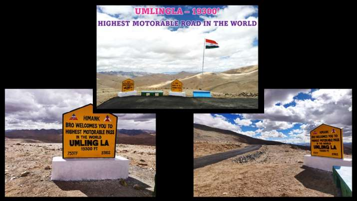 BRO constructs highest motorable road in the world in