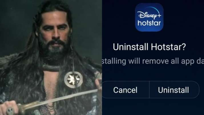 'Uninstall Hotstar' trends after The Empire releases