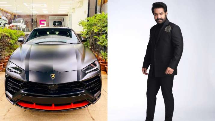 RRR actor Jr NTR becomes owner of India's first Lamborghini Urus Graphite Capsule Edition worth Rs 3