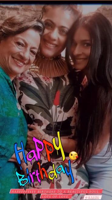 India Tv - Happy Birthday Kajol: Renuka Shahane, Manish Malhotra, B-town extends wishes to actress