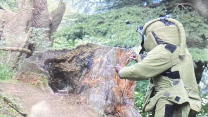 Kupwara, explosives found, Independence day
