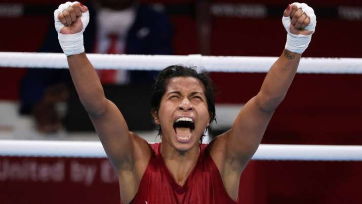 Boxer Lovlina wins bronze at Tokyo Olympics: Congratulatory wishes pour in from Alia Bhatt, Taapsee
