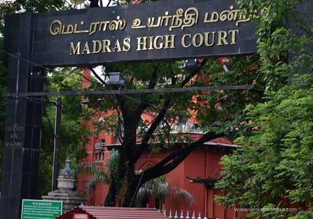 Madras HC bench