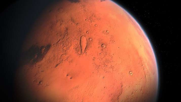Martian snow is dusty, can potentially melt: Study