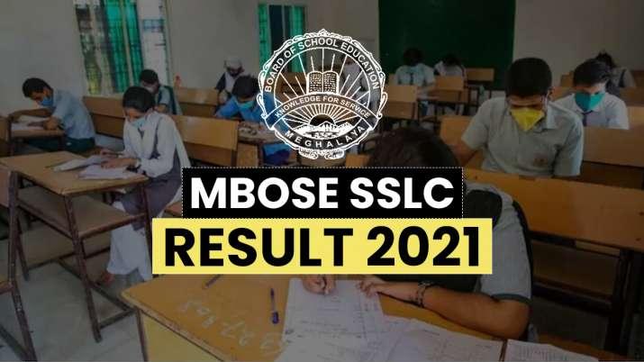 MBOSE SSLC 10th result 2021