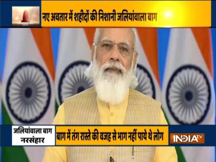PM Modi inaugurates renovated complex of Jallianwala Bagh