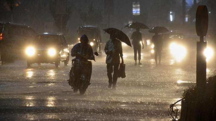 Isolated extremely heavy falls also likely over Assam and