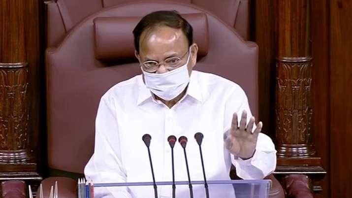 rajya sabha opposition protest