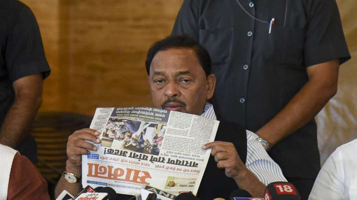 """I've done nothing wrong. They (Shiv Sena) enjoy power, so"