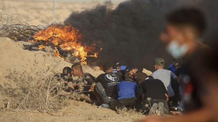 gaza border, palestine, palestine news, 12 year old boy dies,