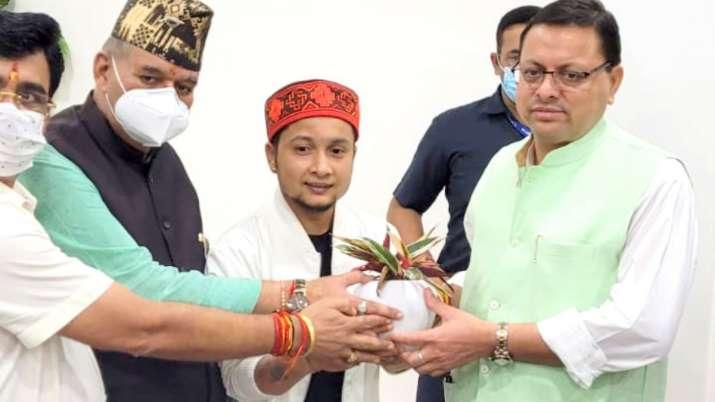 Pawandeep becomes Uttarakhand's Art, Tourism and Culture Brand Ambassador