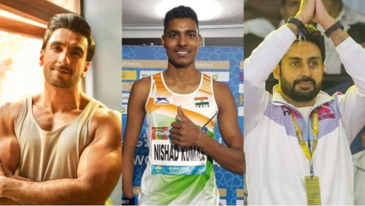 Nishad Kumar wins silver at Paralympics: Ranveer Singh, Abhishek Bachchan & others hail praises