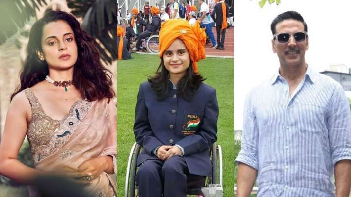 Avani Lekhara wins gold at Tokyo Paralympics: Kangana Ranaut, Akshay Kumar and others hail praises