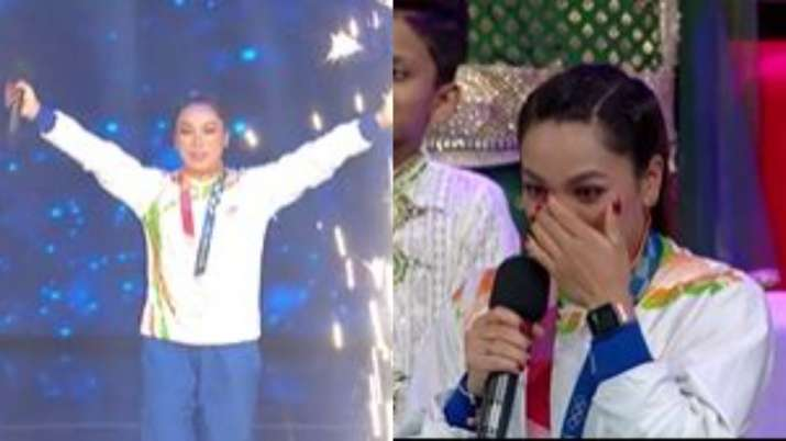 Olympic medalist Mirabai Chanu gets emotional after watching her journey