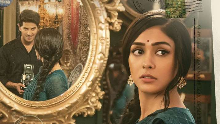 Mrunal Thakur's FIRST look as Sita In Dulquer Salmaan's upcoming film out
