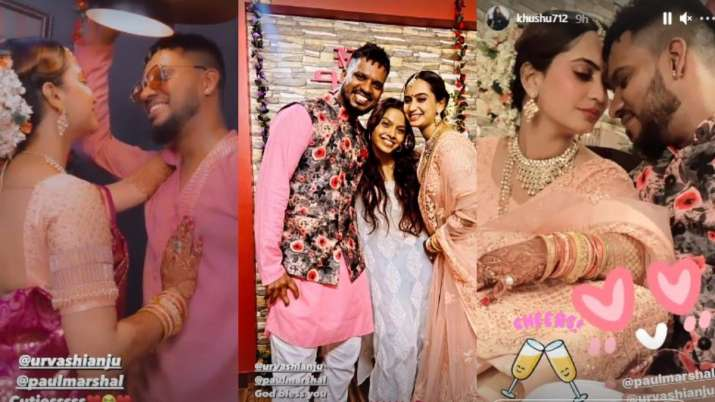 India Tv - Paul Marshal gets engaged to girlfriend Urvashi Anju