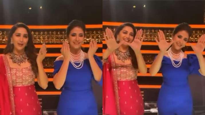30 years of Saajan: Madhuri Dixit dance to the tunes of 'Tu Shayar Hai' with Urmila Matondkar