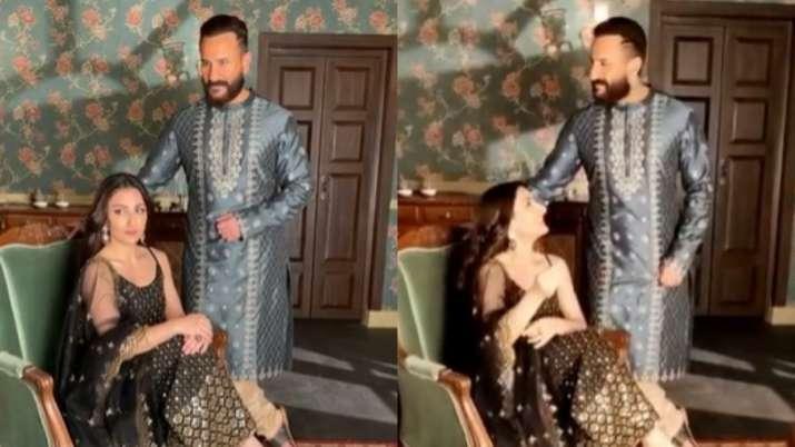 Sneak peek into Saif Ali Khan, sister Soha Ali Khan's royal photoshoot, watch video