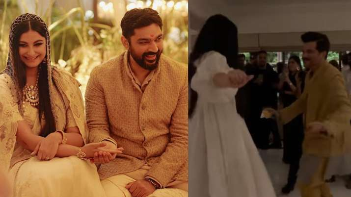 Rhea Kapoor-Anil Kapoor's father-daughter dance from reception party is all things fun | WATCH